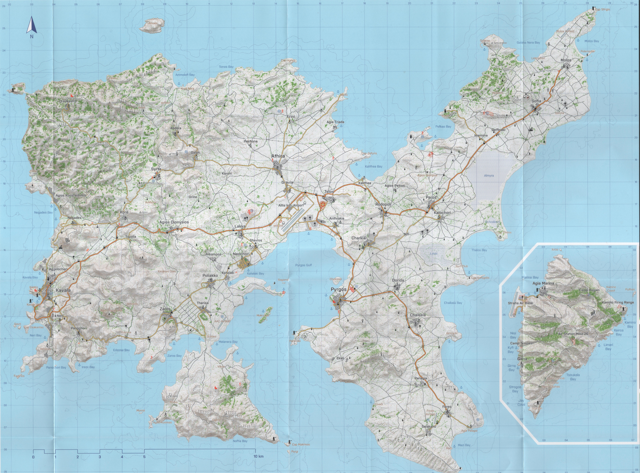 Arma 3 Altis Map Uptowncritters