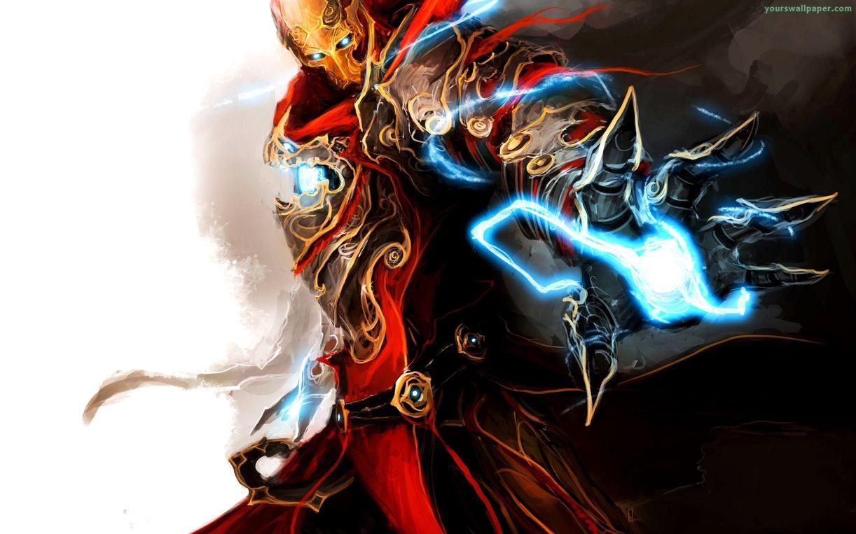 Captain Marvel Fantasy Art Wallpapers Hd Desktop And: Medieval Avengers Ironman Art 229